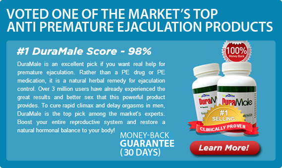 DuraMale is an herbal remedy that has helped millions of men worldwide with premature ejaculation