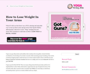 How to Lose Weight in Your Arms - A website within the Doctor Scott Health Network