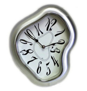 Melting Clock - The abrupt shift in daylight available to us distorts our biochemical processes