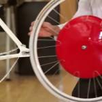 Retrofitting or assembly of Copenhagen Wheel