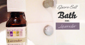 Ultimate Relaxation – Epsom Salt Bath With Lavender Oil