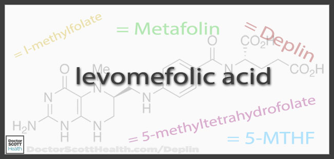 Levomefolic Acid is also known by several other names or synonyms including l-methylfolate