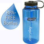 Nalgene 32 ounce 1 Liter BPA Free Water Bottle