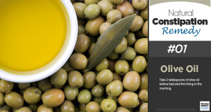 Natural Constipation Remedy #01 – Olive Oil