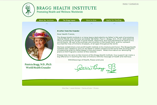 The Bragg Health Institute - Promoting Health and Wellness Worldwide