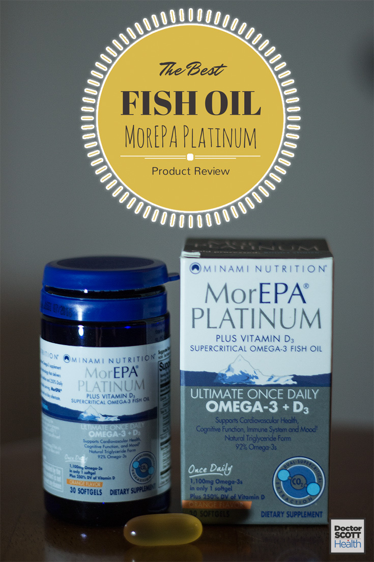 Best Fish Oil Supplement - MorEPA Platinum Review